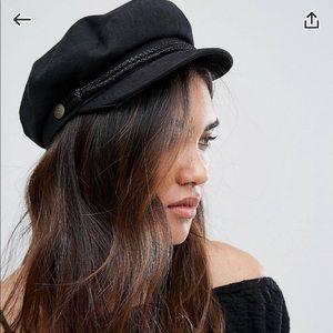 Baker boy hat in black - Brixton from ASOS
